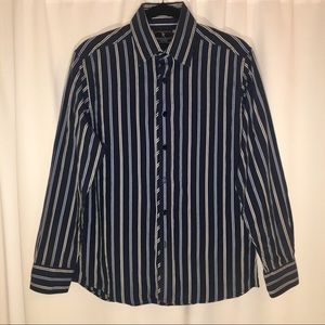 MARC ECKO | SMALL | BLUE DRESS SHIRT